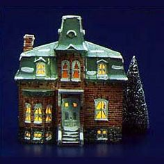 """Department 56: Products - """"Galena House"""" - View Lighted Buildings"""