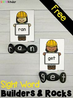 Sight Word Builders