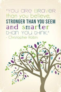 Inspirational poster for children