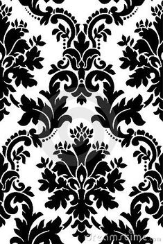 Black and white pattern by Gabor Weisz, via Dreamstime