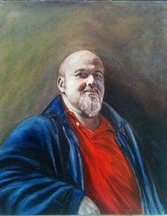 Claudio. Portrait, Oil.