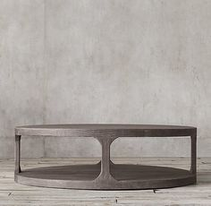 "Martens Round Coffee Table $1595 at 55"" dia"