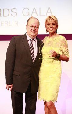 Heinz Buschkowsky und Uschi Glas auf den VICTRESS Awards 2014