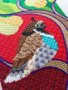 It's not your Grandmother's Needlepoint: Finishing Touches