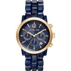 16% off Michael Kors - Watch Audrina Blue - $230 #watch #mk #michaelkors