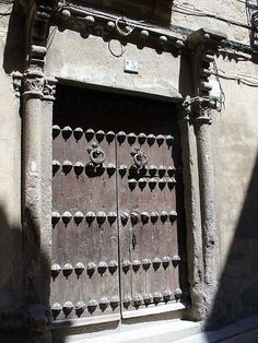 Old door in Toledo, Spain. The First Council of Toledo was held in Toledo, Spain, from 7 September 397 to 400. Its primary purpose was to condemn the Priscillian heresy and uphold the Nicene Creed. It would be another 127 years before a council met again in Toledo. Nineteen Hispanic bishops participated, including Lampius, bishop of Barcelona.