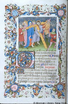 Psalter-Hours, MS M.893 fol. 31v - Images from Medieval and Renaissance Manuscripts - The Morgan Library & Museum