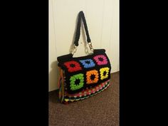 How to #Crochet Look A Like Dolce & Gabbana Designer Handbag #TUTORIAL #144 - YouTube