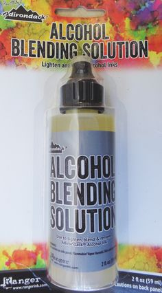 Studio BBG Alcohol Blending Solution by Ranger Adirondack Tim Holtz
