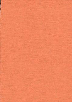 Leinen - Stoff Leinen Reinleinen orange Bio Washed - ein Designerstück von Naehhimmel bei DaWanda