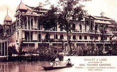 Old Chaletnear Belém belonged to Tavares Cardoso family. Demolish. Belém- Pará- Brazil