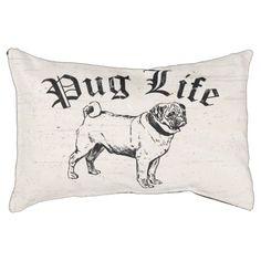 Pug Life Funny Dog Gangster Small Dog Bed