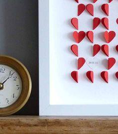 DIY - Quadro de coração - Saiba como fazer