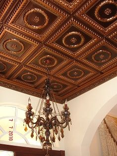 Faux ceiling tiles feature attractive augmentation that stimulate and tine tiles are most decorative with unique look and feel. The faux tin tiles come in Copper Ceiling Tiles, Drop Ceiling Tiles, Ceiling Panels, Ceiling Murals, Tile Panels, White Ceiling, Vintage Ceiling Fans, Tin Tiles, Wall Tiles