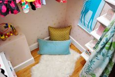 Reading Corner and Closet