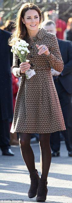 Duchess of Cambridge visits The Art Room Oxford, 21st Feb 2012