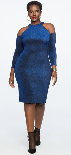Plus Size Cocktail Dress #plussize #party #holiday #dress