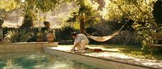 Rooms Bloom: A Good Year -@Robbin Carney, the pool is right up your alley. Have you seen this movie? I think you would like it!