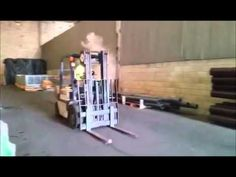 #Forklift Performance NOS Style ... If only in your dreams