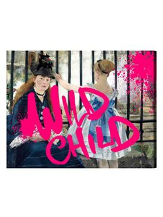 Manet's Wild Child (Canvas) by Oliver Gal at Gilt