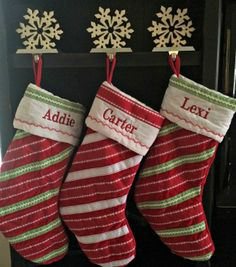 Personalized Stockings from Personal Creations #ad #PCHoliday