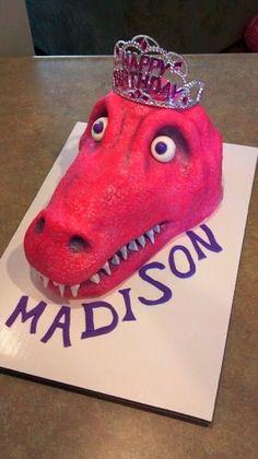 Princess Dinosaur Birthday Party and Spa Day via TheKimSixFix.com