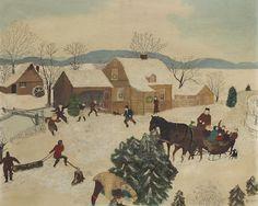 Art History News: Grandma Moses at Auction