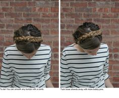 || from orchidgrey.blogspot.com - Julie's step-by-step tutorial on how to do Heidi braids. lovely lovely