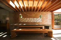 Wood, Bricks, Concrete, Ceramic Tiles by TAKA Architects, Dublin