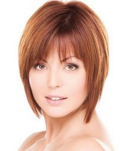 Hairstyles for fine hair with bangs - Frisuren - Cheveux Hair Styles 2014, Medium Hair Styles, Short Hair Styles, 100 Human Hair Wigs, Remy Human Hair, Bob Hairstyles For Fine Hair, Wig Hairstyles, Trendy Hairstyles, Short Straight Hairstyles