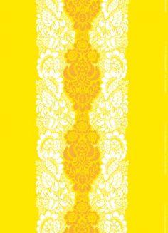 Ananas fabric from Marimekko Finland. f52ff4f7b0