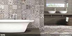 Resultado de imagen para revestimiento para baños modernos