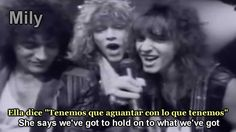 Bon Jovi - Livin' On A Prayer Subtitulado Español Ingles