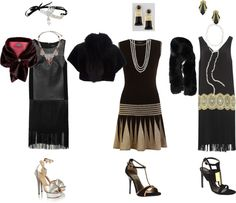Roaring Twenties & Gatsby Parties! Jordan Baker #outfits!