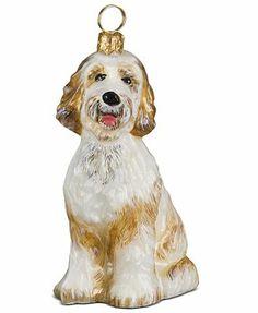Joy to the World Pet Ornament, Goldendoodle