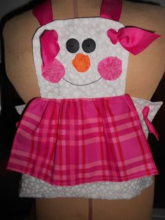 Kids Snowman Apron by beefreedesigns on Etsy, $20.00