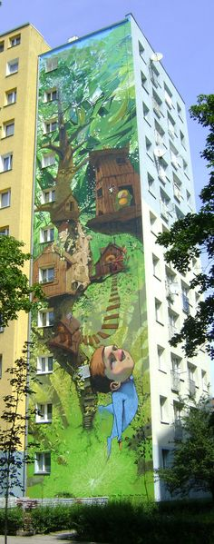 PROJECT BY: Przemek Blejzyktogether with bezt,boier,chylo,kome,pain,pener,roem,tone as C2C(CITY 2 CITY) 2009 Bydgoszcz/Poland #graffiti arts, #illustration, #painting