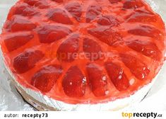 Jahoďák - dort recept - TopRecepty.cz Pepperoni, Pizza, Food, Essen, Meals, Yemek, Eten