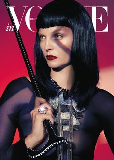German Vogue | Swarovski Cane | Horoscope 2013 November | Lado Alexi |thefashionbirdcage.com