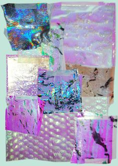 Opalescent, Nacreous, Pearlescent, Iridescent, Polychromatic, Holographic - ELECTRICITY - Iridescent Surfaces