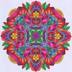 Colorit Mandalas Colorist: Lorrie Palmer #adultcoloring #coloringforadults #mandalas