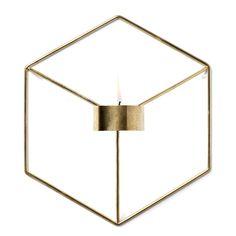 Pov väggljushållare, mässing – Menu – Köp online på Rum21.se