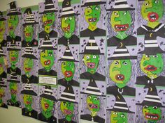 Picasso Witch Collage, gr.3