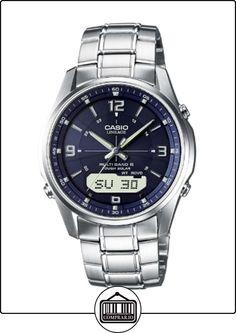 CASIO LCW-M100DSE-2AER - Reloj de caballero de cuarzo, correa de acero inoxidable color plata de  ✿ Relojes para hombre - (Gama media/alta) ✿