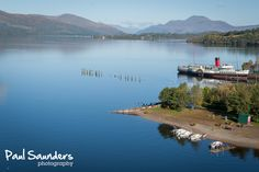 Wide view of stunning Loch Lomond from the excellent Loch Lomond Shores in Balloch.