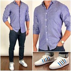 Absolute favorite linen shirt/fabric from our Summer collection ! Grab it while we haven linens in stock : The Grayson : Instagram Shoes, Formal Men Outfit, Man Dressing Style, Look Man, Summer Denim, Gary Vee, Basic Outfits, Summer Outfits, Business Casual Outfits