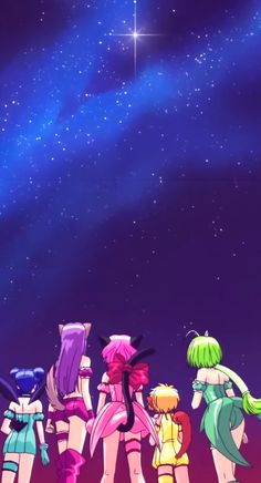 ☆ tokyo mew mew ☆ wow I haven't seen this anime in forever. So girly and fun.