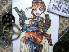 Love, love love their Steampunk collection! Beautiful rendering!