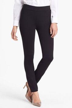 a2de513859689 NYDJ Stretch Ponte Legging Petite Leggings, Knit Leggings, Fashion Collage,  Wardrobe Ideas,
