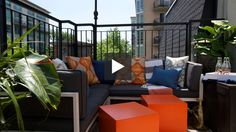6 Tips For A Weekend Balcony Makeover #summerstyle #patio #balcony #smallspace #outdoorliving #backyard